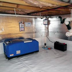 waterproof crawl space wall insulation