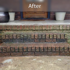 Sinking stairs repaired Knoxville