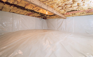Crawl Space Moisture Barrier After in Chattanooga