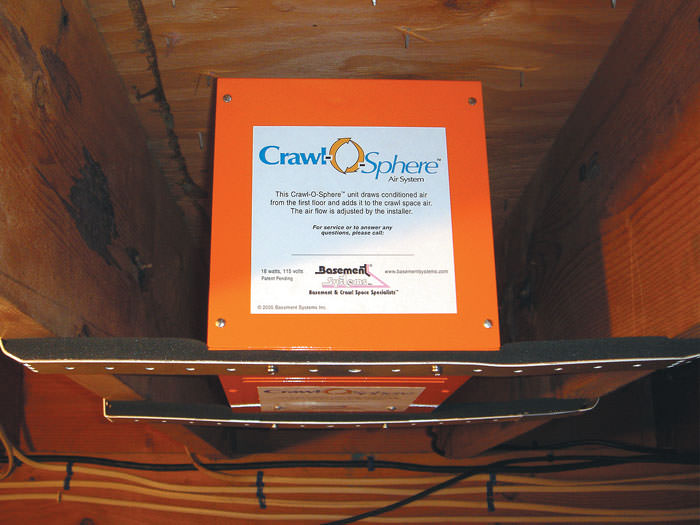 What's the deal with crawl space fans? Do you need one? Read more to find out....