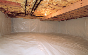 CleanSpace® vapor barrier after in Kingsport