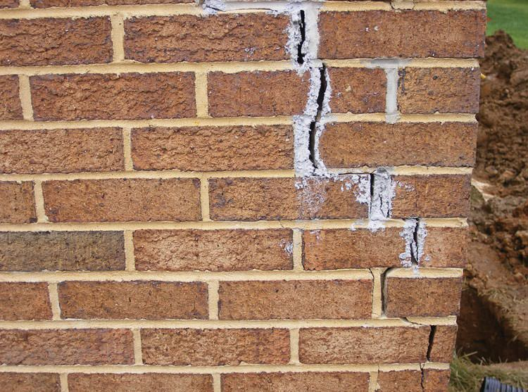 Foundation Cracks Repair In Tennessee Foundation Wall