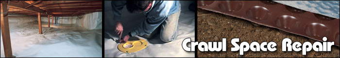 Crawl Space Repair in TN and KY, including Maryville, Johnson City & Knoxville.