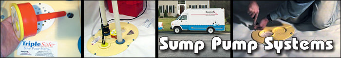 Sump Pump Installation in TN and KY, including Knoxville, Johnson City & Kingsport.