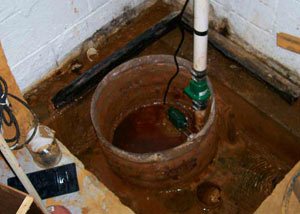 Extreme clogging and rust in a Maryville sump pump system
