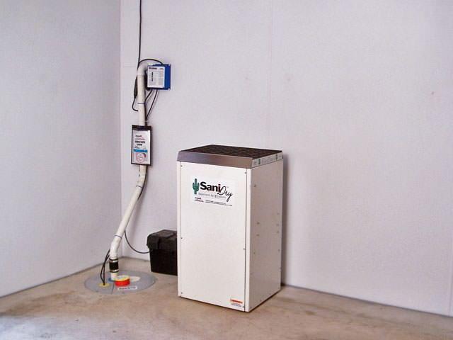 basement waterproofing system basement dehumidifier