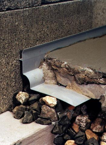 What are some different exterior drainage systems?