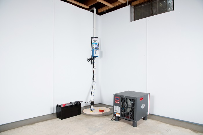 basement waterproofing system by tn waterproofers warranted rh masterdry com basement waterproofing nj basement waterproofing nj