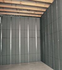 Thermal insulation panels for basement finishing in Johnson City, Tennessee and Kentucky