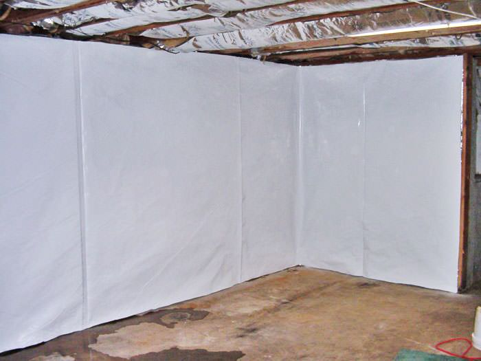 ... Basement Wall Vapor Barrier In Madisonville ...